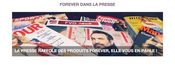 Presse Forever Living